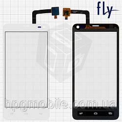Сенсорный экран для Fly IQ4416, белый, оригинал