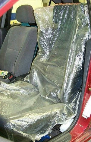 Защитная накидка-чехол на сиденье ПОШТУЧНО COLAD, фото 2