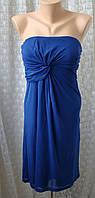 Платье женское коктейльное легкое модное мини бренд Esprit р.40-42 5752а