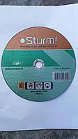 Отрезной круг (диск)  230*2,0*22 мм Sturm (по металлу)