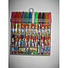Набір гелевих ручок в PVC 12 кольорів Winx з блискітками JO 8017-12W