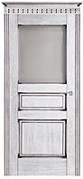 """Межкомнатные двери из массива дуба """"№5-Д"""" ПО,  60, 70, 80, 90, со стеклом"""