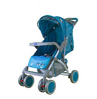 Коляска прогулочная Bambini King blue