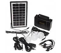 Портативная солнечная система GDLite GD-8007, фонарь на солнечной батарее, GDLite GD-8007