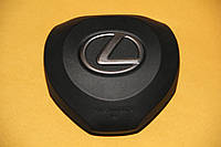 Крышка накладка в руль заглушка обманка AIRBAG SRS подушки безопасности на LEXUS ES RX 2016 LX570 2015+