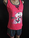 Яркие пижамки майка с шортами., фото 3