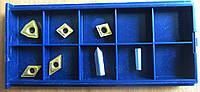 Пластины твердосплавные сменные 7 шт из карбида для набора токарных резцов по металлу из 7 шт 10х10 мм