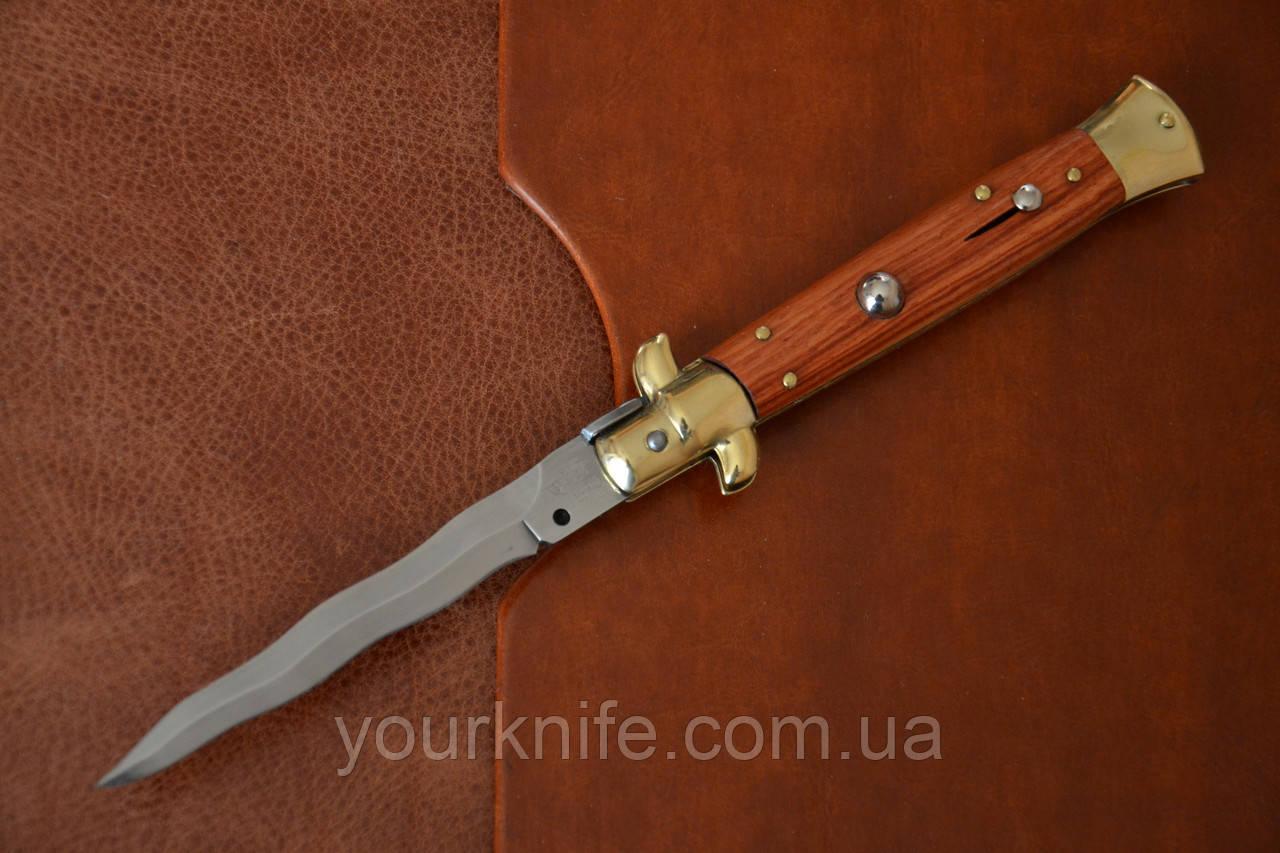 Купить Нож Итальянский автоматический стилет Armando Beltrame (AB) 23см палисандровое дерево kris