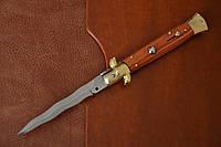Нож Итальянский автоматический стилет Armando Beltrame (AB) 23см палисандровое дерево kris