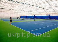 Наливное покрытие для теннисных площадок