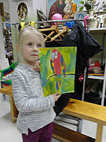"Картина ""Попугай"""