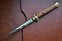 Купить Нож Итальянский автоматический стилет Armando Beltrame (AB) 28см палисандровое дерево kris