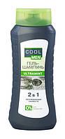 Гель-шампунь Cool Men Ultra Mint 2 в 1 Охлаждающая свежесть - 400 мл.