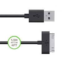 Уплотненный USB кабель для iPhone 4/ 4S Belkin