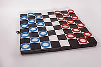 Гимнастический складной мат -шашки