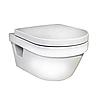 Унитаз подвесной безободковый Gustavsberg Hygienic Flush + крышка Softclose