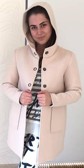 Женское неопреновое пальто из Италии
