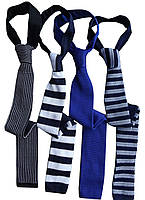Трикотажный галстук