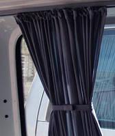 Автошторки/автомобильные шторки, солнцезащитные шторки для авто Renault Trafic - Рено Трафик черные