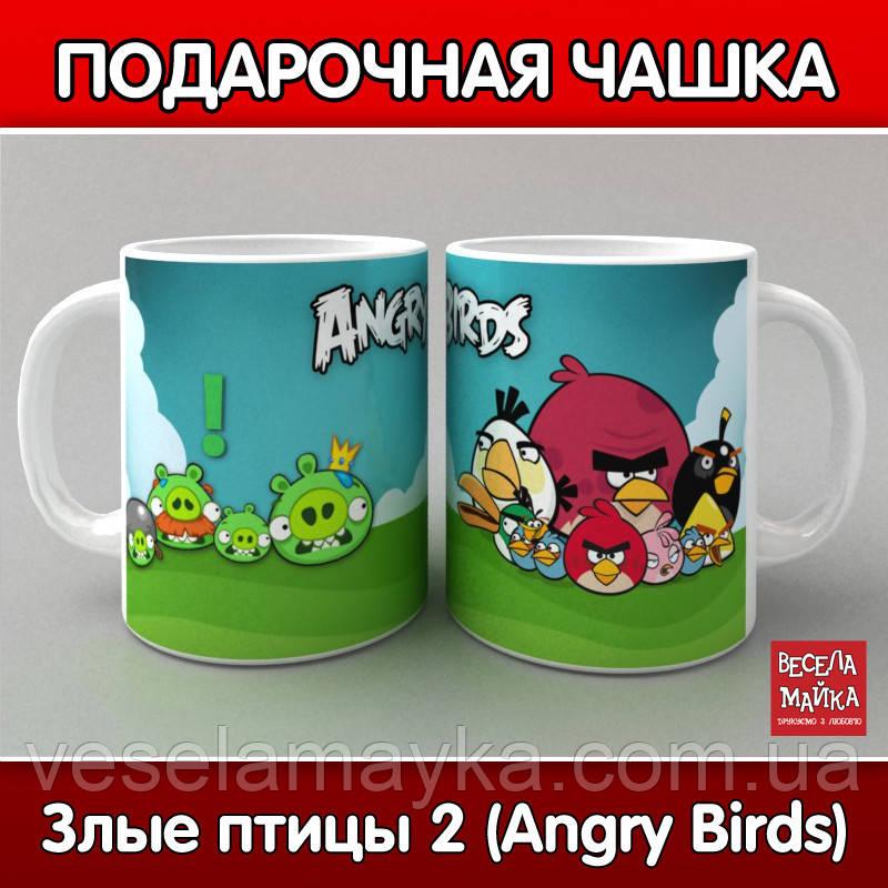 Кружка Злые птицы 2 (Angry Birds)