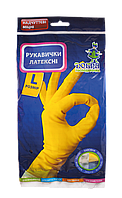 Перчатки для уборки плотные L Добра Господарочка