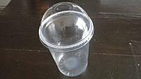 Стакан одноразовый пластиковый с купольной крышкой 500мл