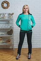 Женский молодёжный стильный спортивный костюм   , фото 1