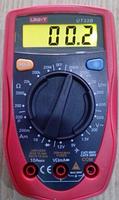Карманный цифровой многофункциональный мультиметр UNI-T UT33B  в эргономичном корпусе, фото 2