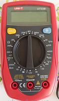 Карманный цифровой многофункциональный мультиметр UNI-T UT33B  в эргономичном корпусе, фото 5
