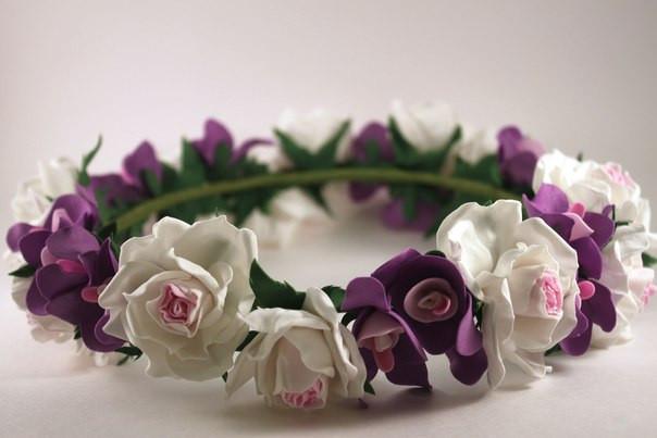 Декоративные цветы для рукоделия