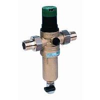 Комбинированный фильтр тонкой очистки с регулятором давления FK06 DN 15 ААМ Honeywell для горячей воды