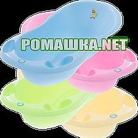 Ванночка пластиковая Tega Balbinka TG-029, 102х50 см, Польша ЦВЕТА НА ВЫБОР