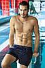 Шорты мужские короткие однотонные для плавания