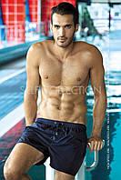 Шорты мужские короткие однотонные для плавания , фото 1
