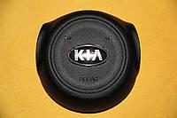 Накладка заглушка на подушку безопасности имитация Airbag SRS крышка в руль на KIA SOUL 2013-2015