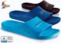 Тапки для бассейна и пляжа Aqua Club Феши Германия размер 36-37 голубые