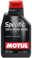 Моторное масло Motul Specific 506 01 506 00 503 00 0W-30 1л