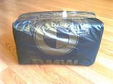 Пакеты полиэтиленовые BMW 38х57 см/ 40 мкм, плотный пакет-майка, фото 3