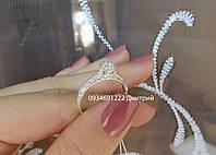 Утонченное кольцо из серебра