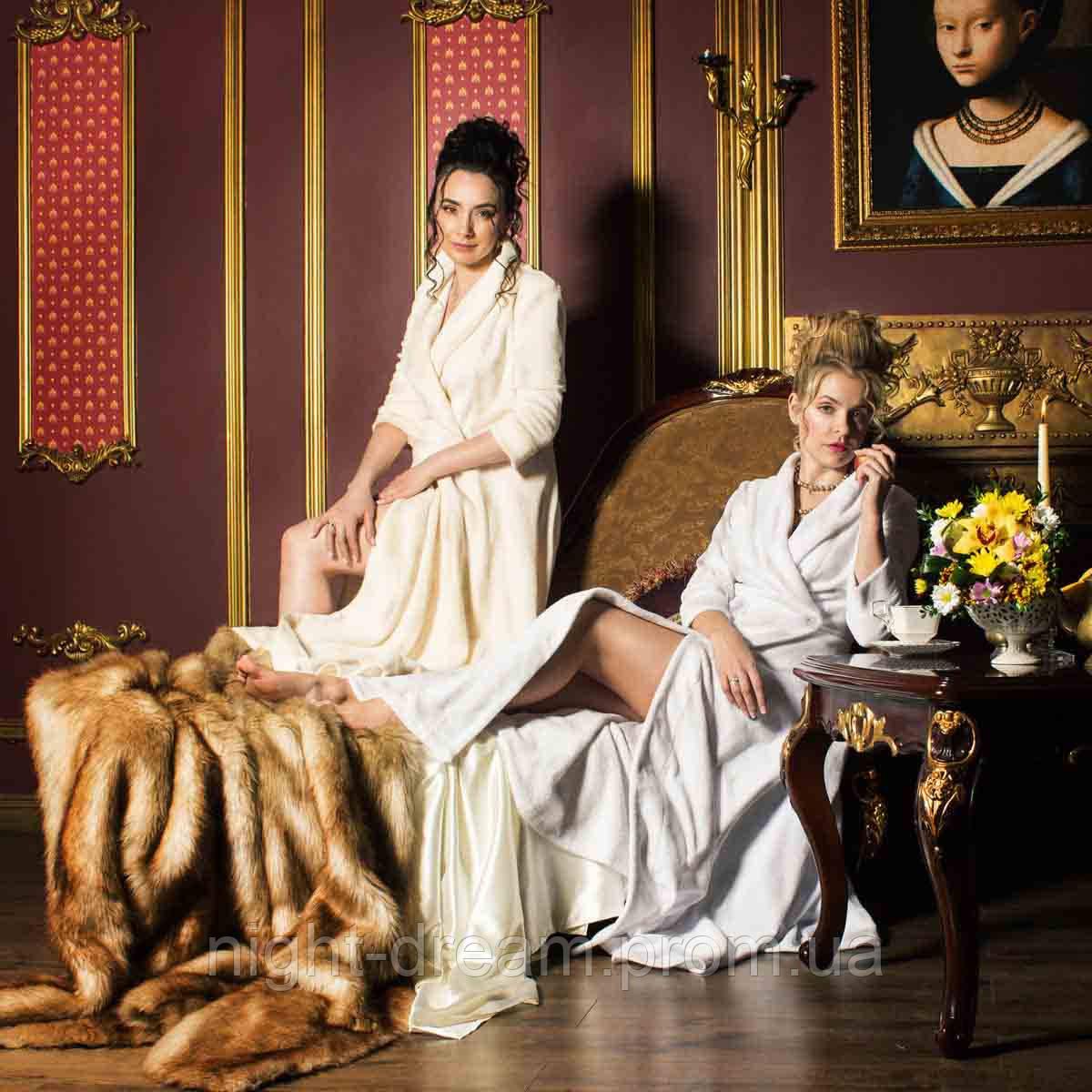 33ea4058fb64 Длинный махровый халат MADONNA от Guddini XL(54-56) белый - купить ...