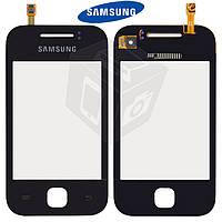 Touchscreen (сенсорный экран) для Samsung Galaxy Y S5360, оригинал (черный)