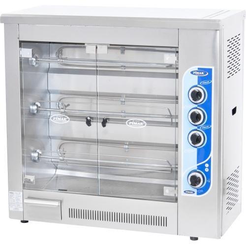 Гриль для кур электрический/газовый М003 12 кур Pimak (Турция)