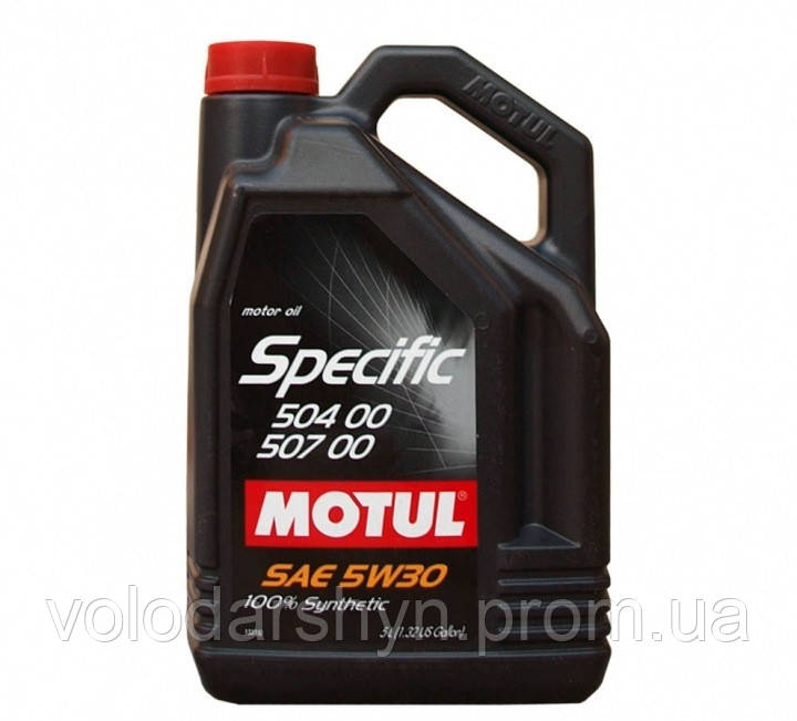 Моторное масло Motul Specific 504 00 507 00 5W-30 1л - Rezina 24 в Львове