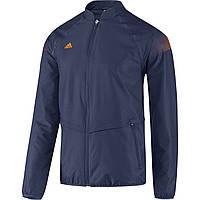 Ветровка спортивная мужская adidas Mens Samba Casual Woven Navy Track Jacket D85238 адидас