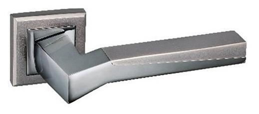 Дверные ручки MVM Z-1319 BN/SBN - черный никель/матовый черный никель