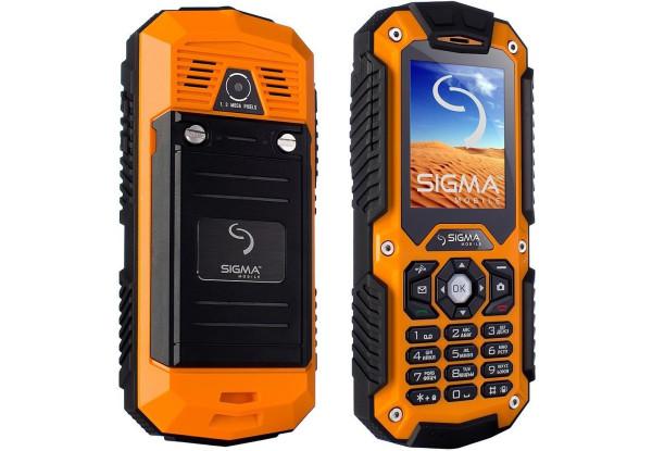 Мобильный телефон Sigma mobile X-treame IT67 Dual Sim orange