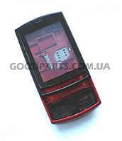 Корпус для Nokia 303 Asha красный high copy