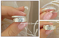 Кольцо Два в одном серебро 925