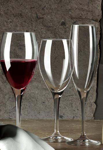 Бокалы для вина из хрусталя