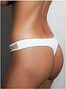 Женские трусики стринги белые Doreanse 6129 размер S, фото 2